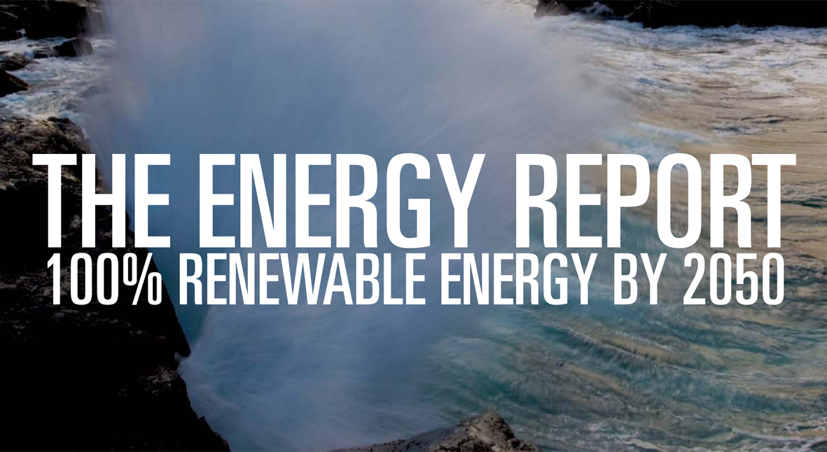 WWF : THE ENERGY REPORT – 100% RENEWABLE ENERGY BY 2050