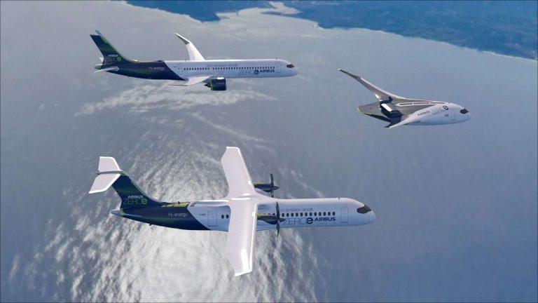 Airbus dévoile trois avions qui seront propulsés à l'hydrogène