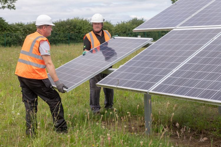 UK government solar LCOE forecasts tumble
