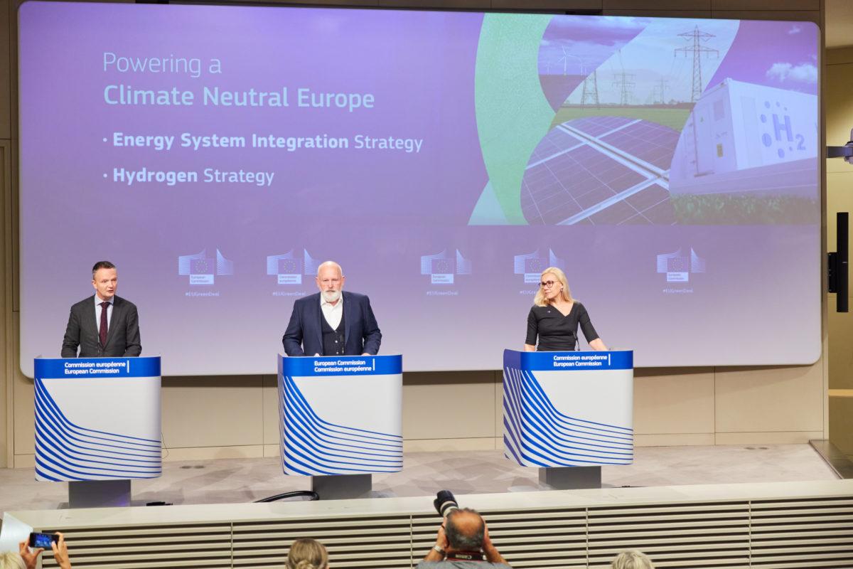 La stratégie de l'UE pour l'hydrogène pourrait conduire à une augmentation de la capacité d'énergies renouvelables de 120 GW
