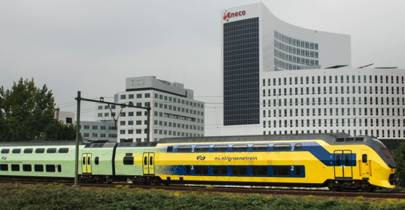 100% of electric Dutch trains now run on wind power