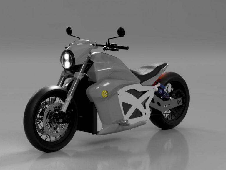 Evoke 6061 : cette moto électrique recharge à 1500 km/h