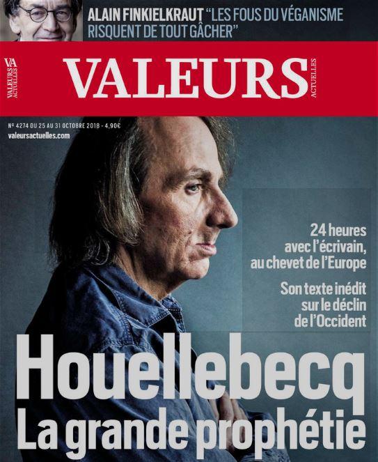 EFFONDRISME – Michel Houellebecq : le suicide de l'Occident résultat de deux déclins, l'un démographique, l'autre religieux