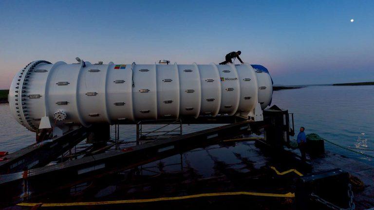Microsoft : l'expérience d'un data center sous l'eau est une réussite totale