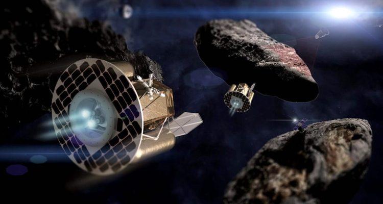 La Chine s'apprête à lancer son premier robot minier spatial
