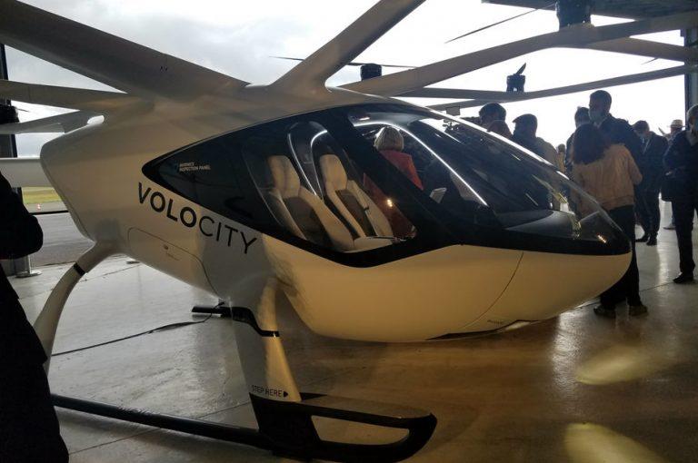 Volocopter va tester son taxi volant VoloCity à l'aérodrome de Pontoise en 2021