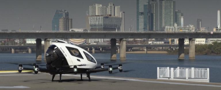 Corée du Sud : un taxi drone en développement