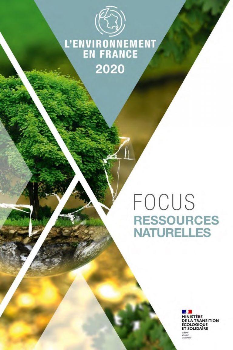 Ministère de la transition écologique et solidaire : focus ressource naturelle