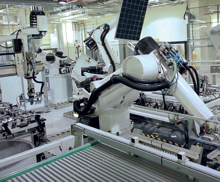 Projet d'une usine de panneaux solaires à héterojonction à Hambach