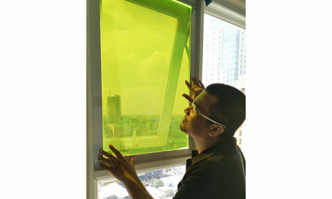 Ce Philippin a conçu des panneaux solaires à partir de déchets de fruits et légumes