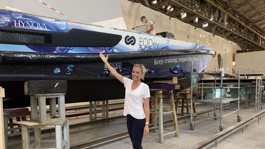 La Ciotat : le tout premier bateau à hydrogène sort des Chantiers