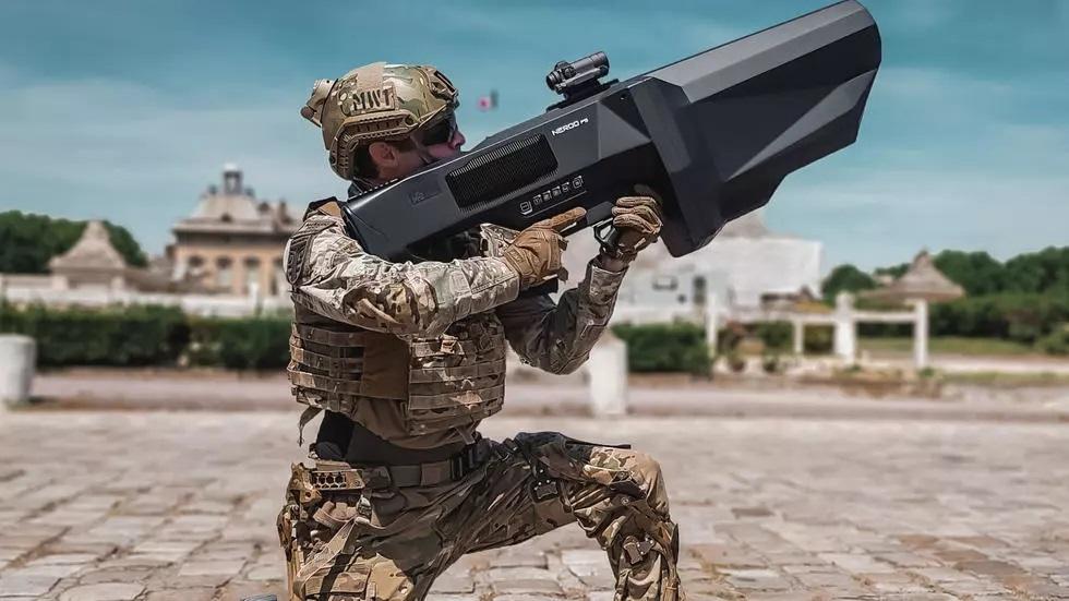 Le Nérod, un fusil brouilleur