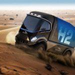 Un camion à hydrogène Gaussin au Dakar 2022