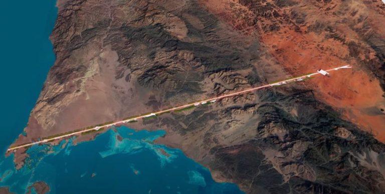 The Line, un projet de ville « zéro carbone » en Arabie saoudite