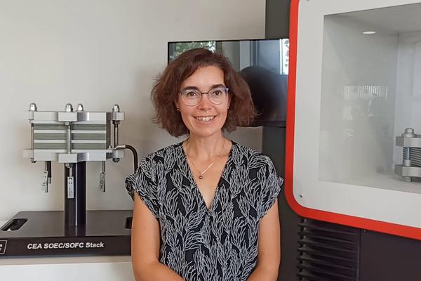 « La technologie d'électrolyse du CEA qu'exploitera Genvia pour produire de l'hydrogène atteint 99% de rendement», se réjouit Julie Mougin du CEA-Liten