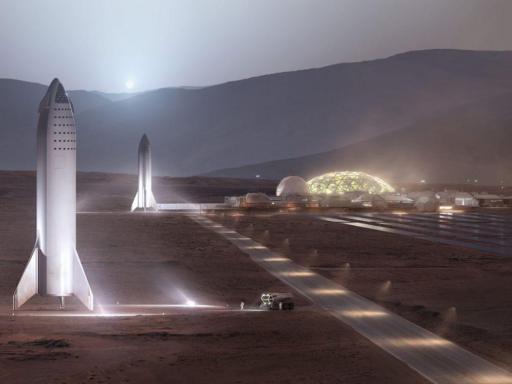 Un système à base de cyanobactéries pourrait nous permettre de vivre sur Mars !