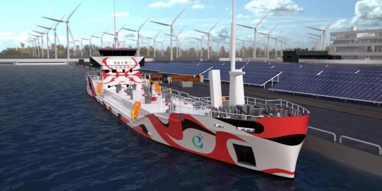 Bientôt un tanker électrique doté d'une énorme batterie de 3,5 MWh