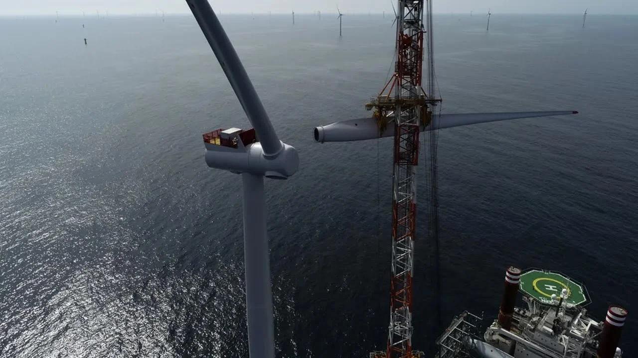 Le Royaume-Uni en tête de l'éolien offshore