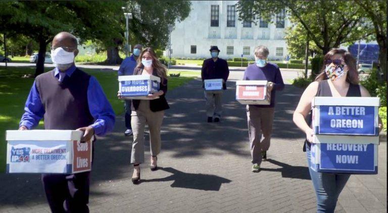 L'Oregon vote pour la décriminalisation de l'usage de drogues dures
