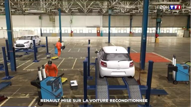 Comment l'usine Renault de Flins va se spécialiser dans les voitures reconditionnées