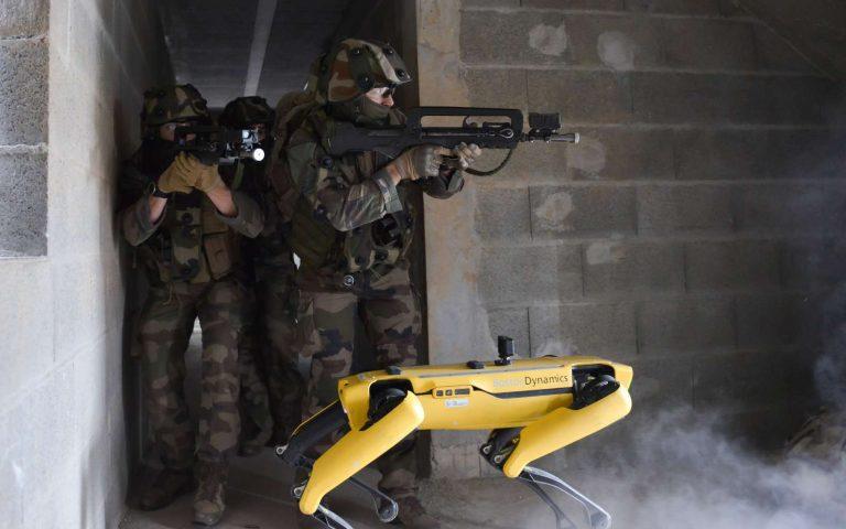 L'armée française s'entraîne au combat avec Spot et d'autres robots