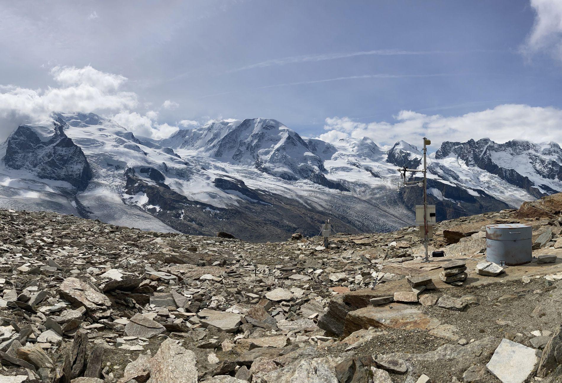 Der Permafrost in der Schweiz erwärmt sich zunehmend