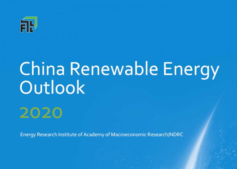 China renewable energy outlook 2020