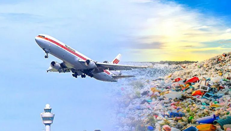 Une nouvelle technologie convertit les déchets plastiques en carburéacteur en une heure