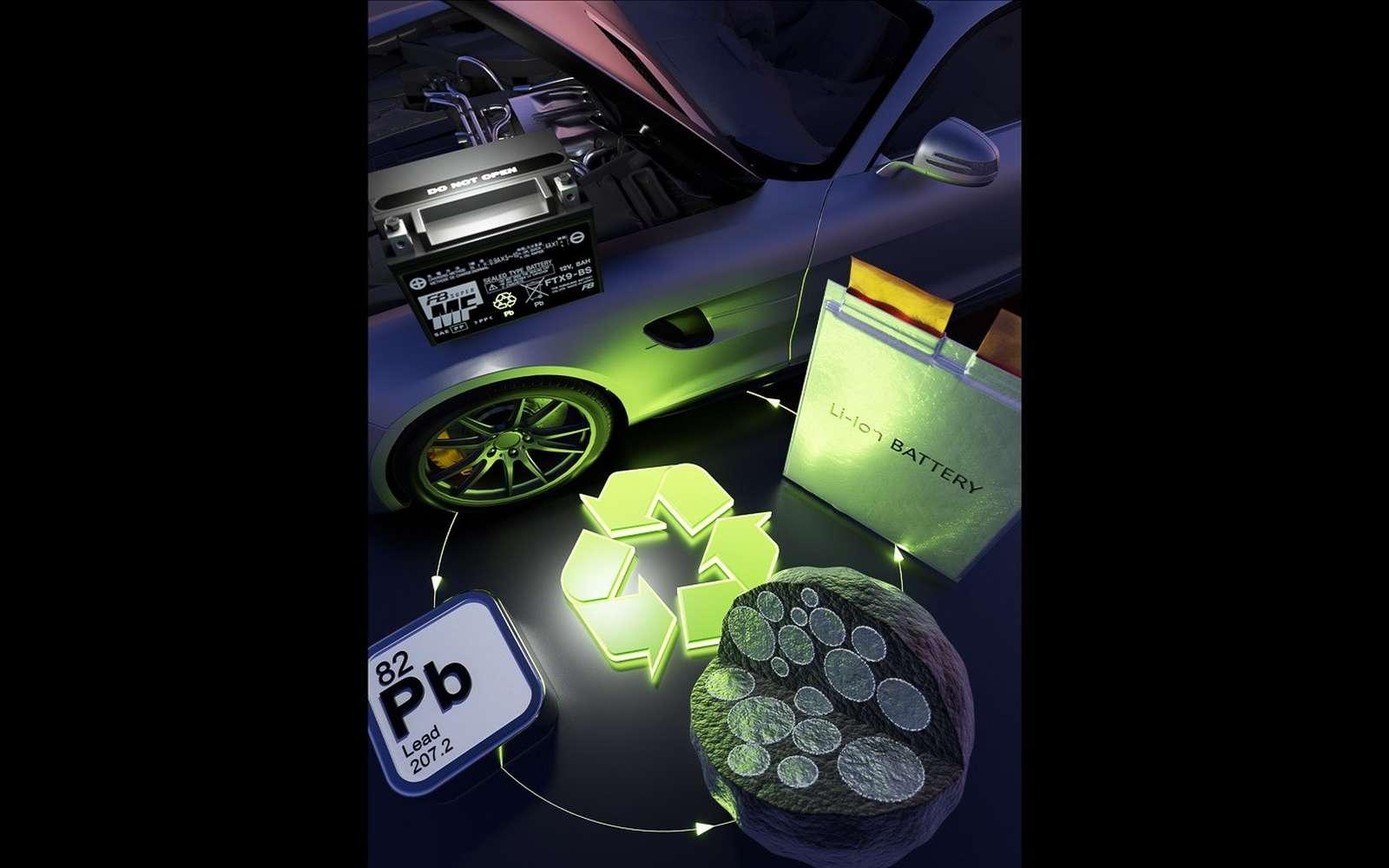 Le plomb pourrait doubler la capacité des batteries lithium-ion