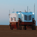 Un robot agricole pour un désherbage de précision au laser