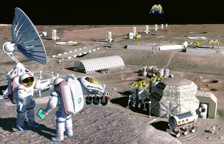 La Chine et la Russie vont signer un accord pour une station lunaire internationale