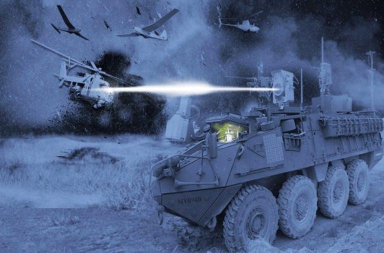 L'armée américaine développe une arme laser capable de vaporiser ses cibles