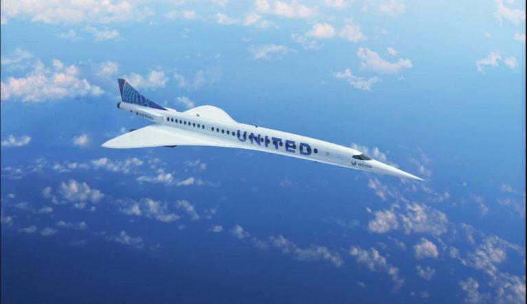 United Airlines se lance dans le marché des avions supersoniques