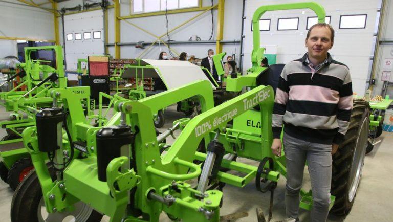 Les tracteurs électriques de l'entreprise gersoise Elatec retenus dans le cadre de France Relance