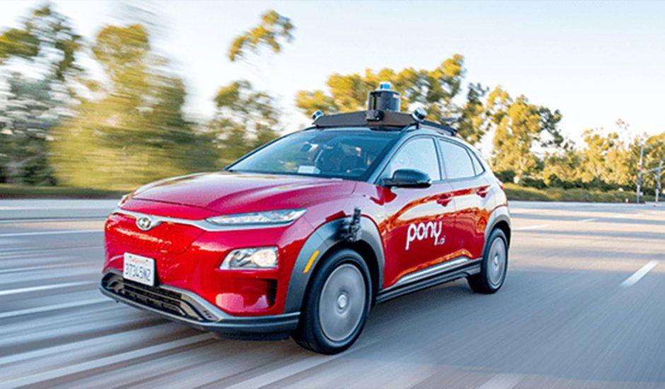 Pony.ai va tester des véhicules autonomes sans conducteur en Californie
