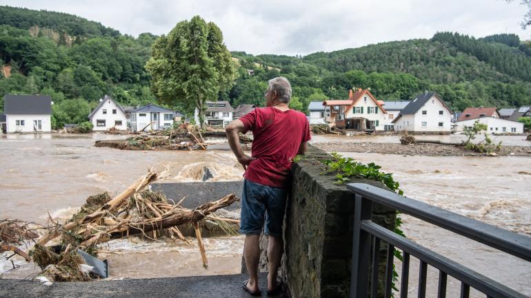 En Allemagne, les intempéries font au moins 19 morts et de nombreux disparus