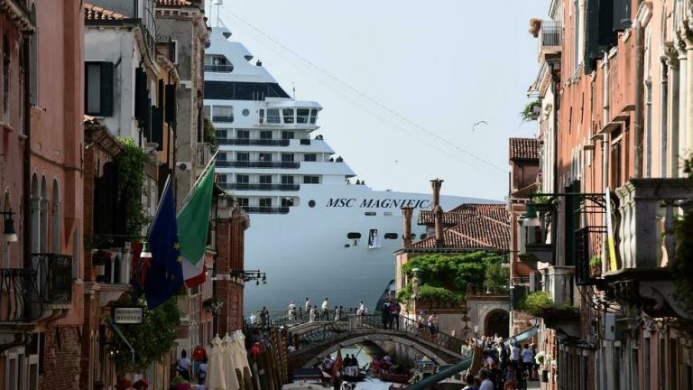 Italie: les paquebots de croisière désormais bannis du centre de Venise