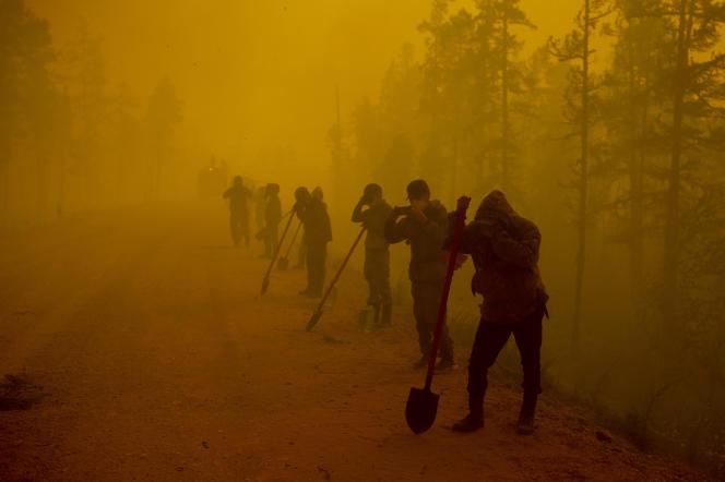 Russie : Vladimir Poutine appelle à agir face à des catastrophes naturelles d'une « ampleur sans précédent »
