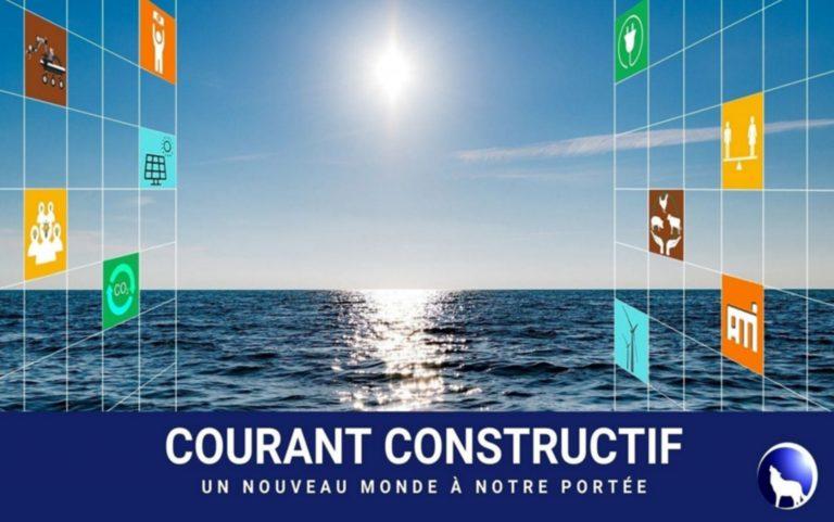 Plaquette de présentation de Courant Constructif