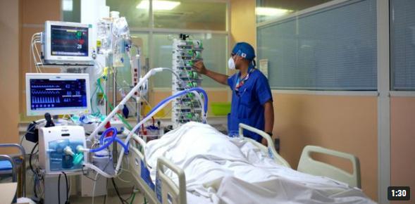 Covid-19 : contaminations hors de contrôle en Guadeloupe, l'hôpital saturé