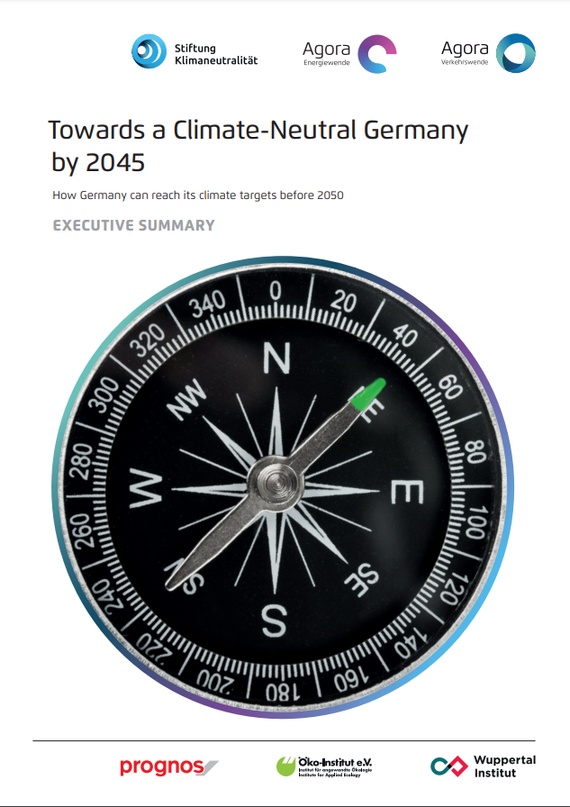 Towards a Climate-Neutral Germany by 2045