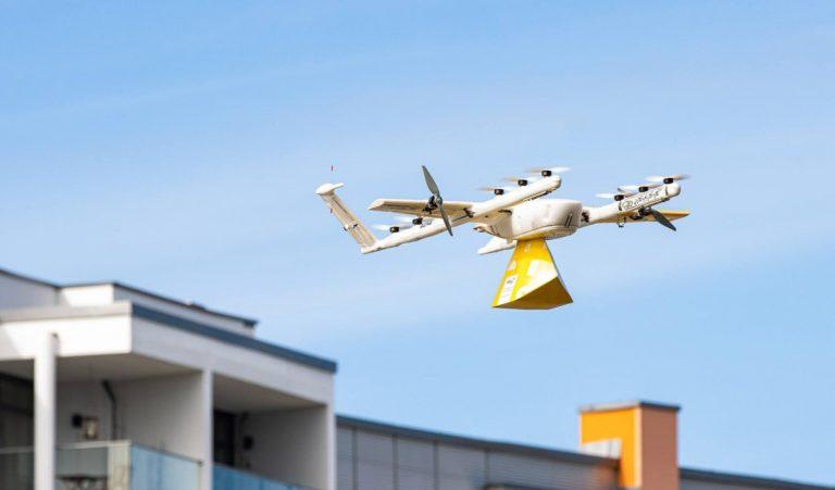Dans cette ville, la livraison par drone est entrée dans les habitudes