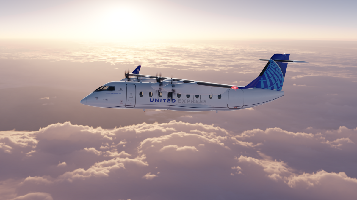 Après le supersonique, United Airlines veut des avions à propulsion électrique