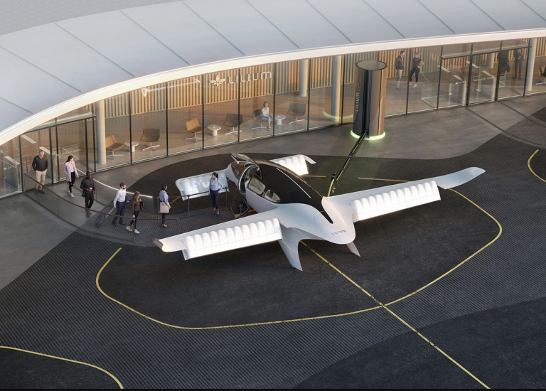 Aviation électrique : la compagnie brésilienne Azul se tourne vers l'eVTOL Lilium Jet