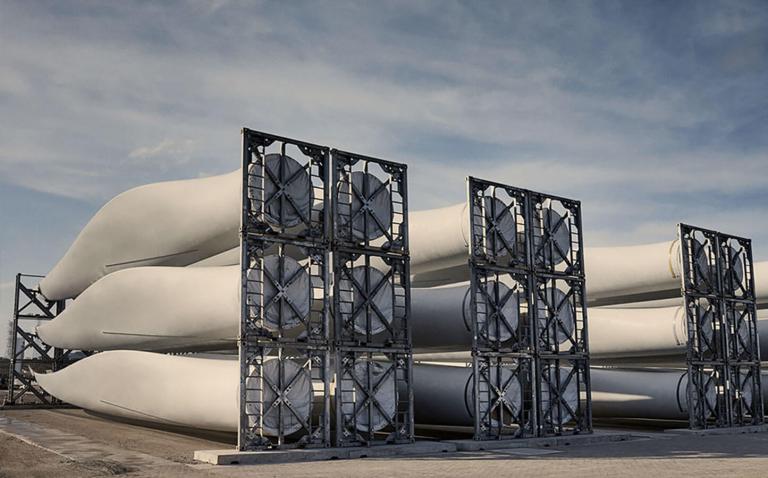 La première pale d'éolienne recyclable est désormais commercialisée