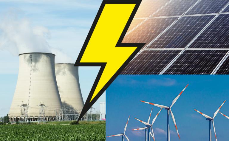 Nucléaire ou renouvelables : qui a produit le plus en 2020 ?